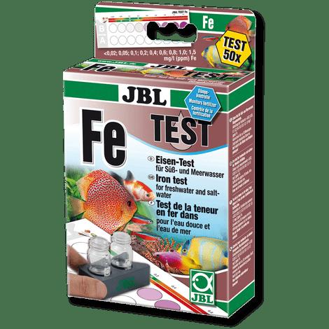 Test de hierro en los acuarios JBL