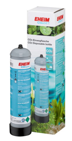 EHEIM botella de repuesto de CO2 de 500 g, desechable