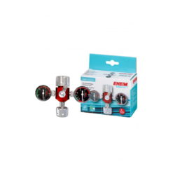 Manoreductor de CO2 EHEIM para bombona recargable con dos relojes