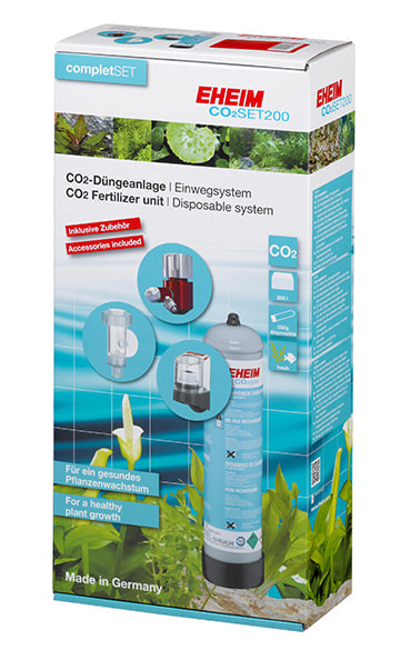Set completo de CO2 de 500g desechable EHEIM CO2 SET 200 detalle 1