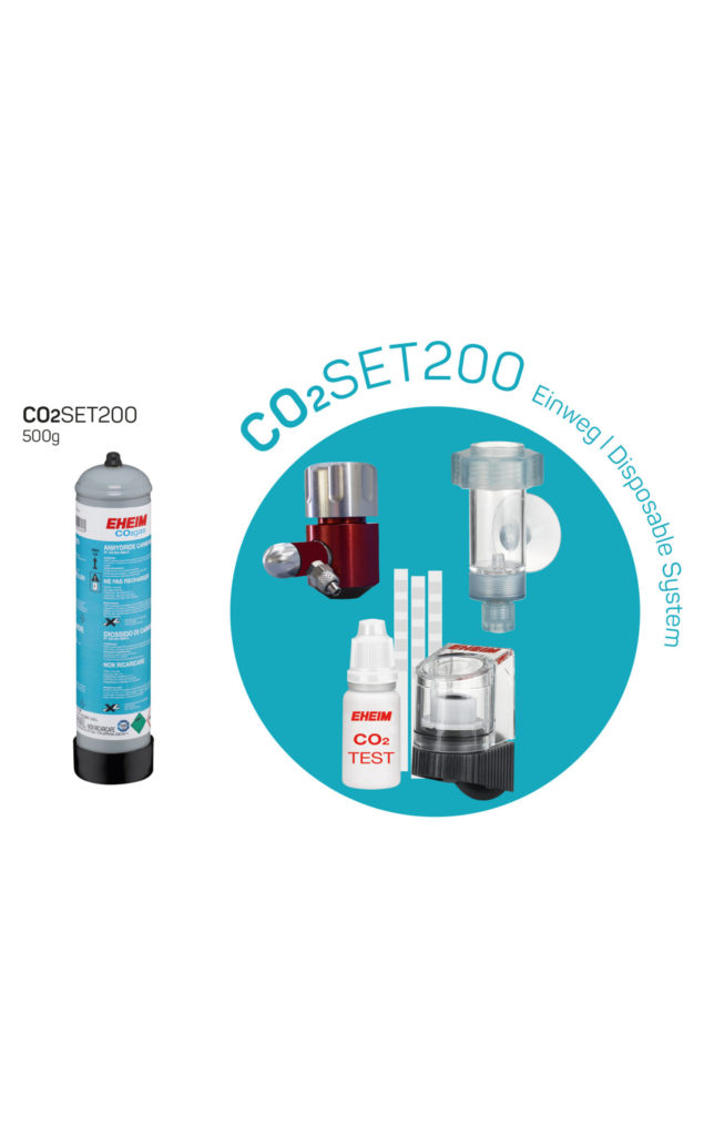 Set completo de CO2 de 500g desechable EHEIM CO2 SET 200 detalle 2
