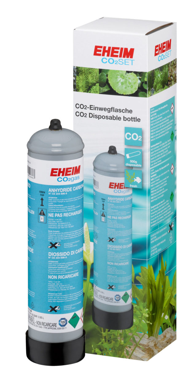 Set completo de CO2 de 500g desechable EHEIM CO2 SET 200 detalle 3