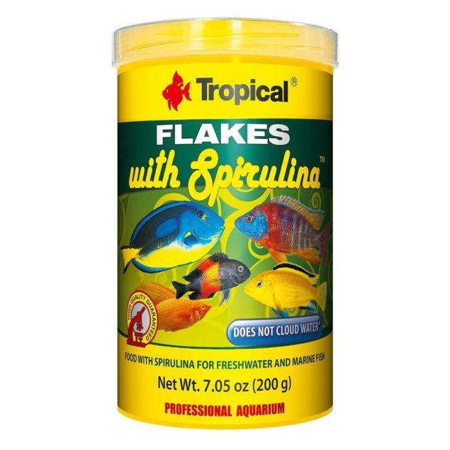 Tropical Super spirulina forte chips vegetal