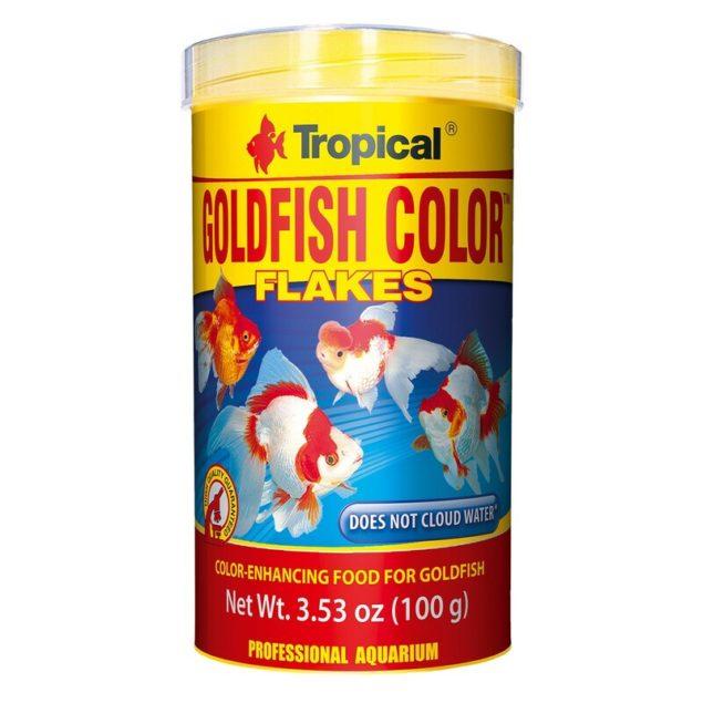 Comida peces Tropical Goldfish Color
