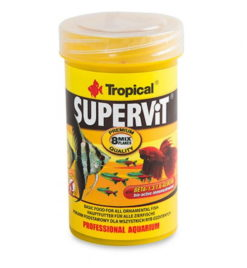 Alimento de escamas peces omnívoros Supervit basic