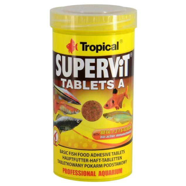 Tropical Supervit Tablets A alimento vitaminas