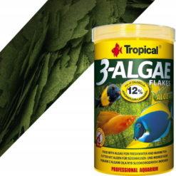 3 algae flakes