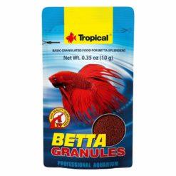 Alimento granulado peces bettas