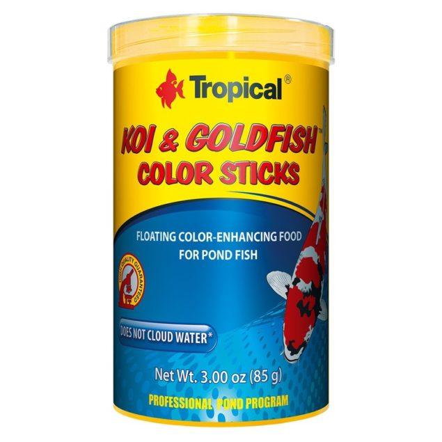 Alimento flotante para peces koi & goldfish de color