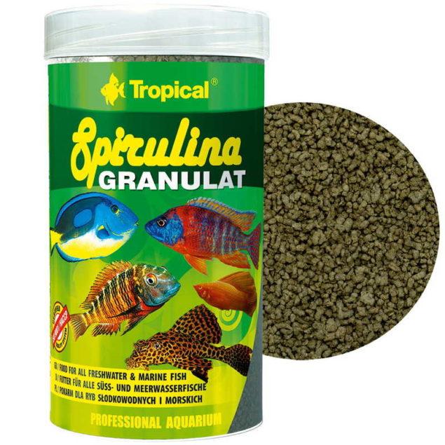 Tropical Spirulina granulat