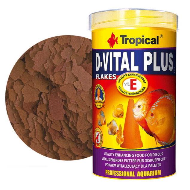 Tropical D-VITAL plus alimento peces discos con crías