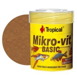 tropical Mikrovit basic comida diario alevines