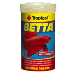 tropical comida peces betta krill