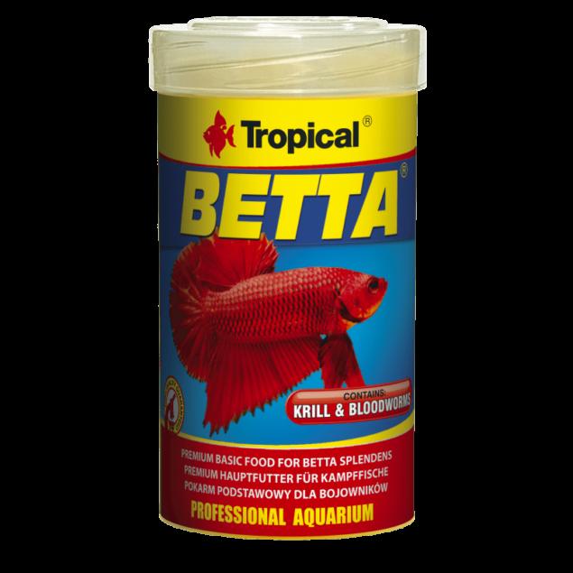 tropical comida peces betta krill
