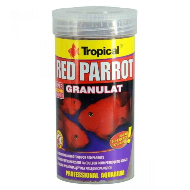 Tropical Red Parrot gránulos