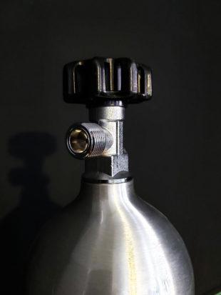 Botella de CO2 1L recargable para acuarios 3