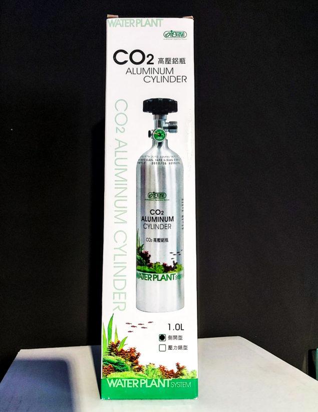 Botella de CO2 1L recargable para acuarios