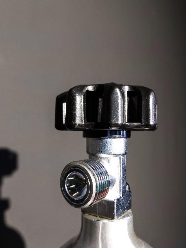 Botella de CO2 2L recargable para acuarios 3