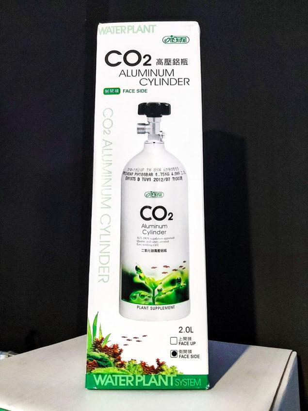 Botella de CO2 2L recargable para acuarios