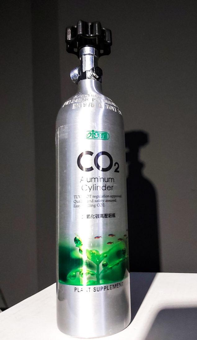 Botella de CO2 3L recargable para acuarios 3
