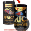 comida peces africanos