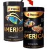 comida peces origen America